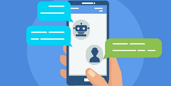 Illustration of a chatbot.