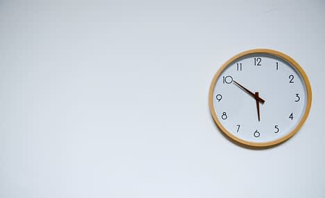 An image showing a clock